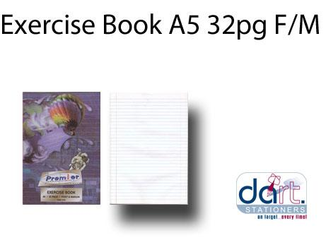 EXERCISE BOOK A5 32PG F/M