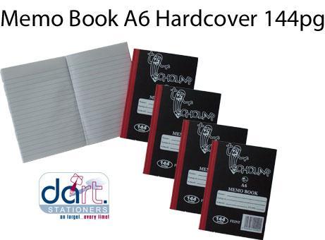 MEMO BOOK A6 H/C 144PGE