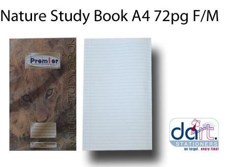 NATURE STUDY BOOK A4 72 PG F/M