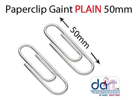 PAPERCLIP  50mm PLAIN GAINT