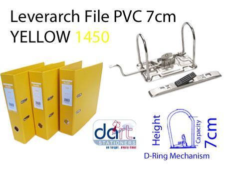 LEVERARCH PVC 7CM 1450 YELLOW