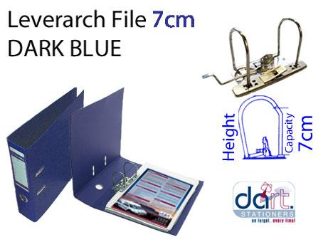 LEVERARCH DONAU 7CM DARK BLUE