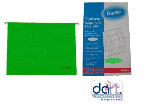HANGING FILE BANTEX F/S GREEN