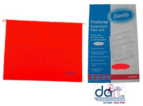 HANGING FILE BANTEX F/S RED