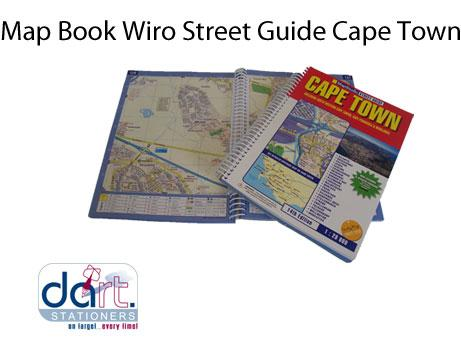 MAP BOOK WIRO STREET GUIDE C.T