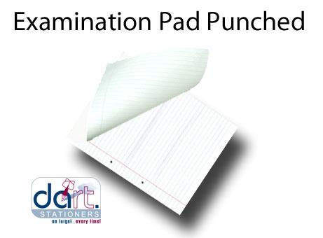 EXAMINATION PAD PUNCHED