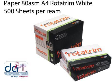 PAPER 80asm A4 ROTATRIM WHITE