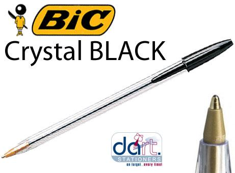 BIC CRYSTAL  BLACK
