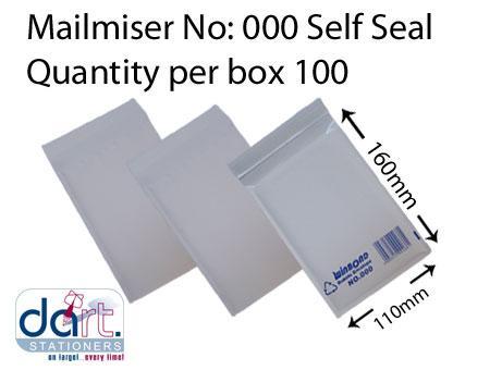 MAILMISER NO:000 SELF SEAL BX100