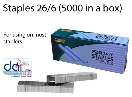 STAPLES 26/6 5000 PRIMA