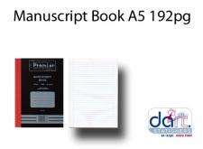 MANUSCRIPT BOOK A5 192pg BS 147
