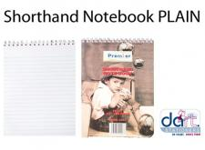 SHORTHAND NOTE BOOK PLAIN