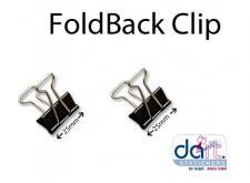 FOLDBACK CLIP 25mm