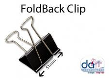 FOLDBACK CLIP 51mm