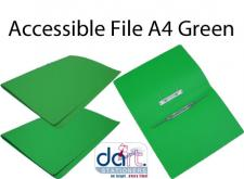 ACCESSIBLE FILE A4 GREEN