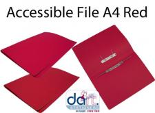 ACCESSIBLE FILE A4 RED