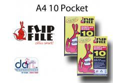 FLIPFILE KANGAROO  A4 10POCKET