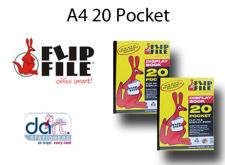 FLIPFILE KANGAROO  A4 20POCKET
