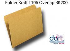 FOLDER KRAFT T106 O/LAP BK200