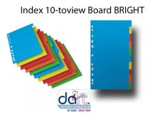 INDEX 10-TO-VIEW BOARD BRIGH