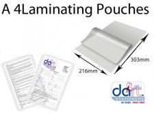 LAMINATING POCKETS A4 160 MIC