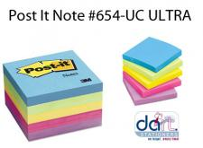 POST IT NOTE #654-UC  ULTRA