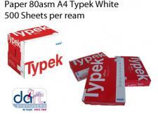 PAPER 80asm A4 TYPEK WHITE