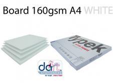 BOARD 160gsm A4 WHITE