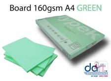 BOARD 160GSM A4 GREEN PASTEL
