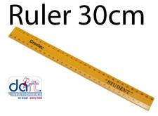 RULER 30cm SHATTER PROOF
