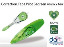 CORRECTION TAPE PILOT BEGREEN 4MMX6M