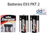 BATTERIES ENERGISER E93 PKT2