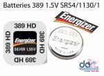 BATTERIES 389/390/189 1.5V SR54/1130/1/AG10