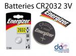 BATTERIES CR2032 3V