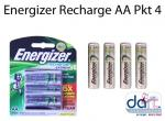 BATTERIES ENERGIZER RECHARGE AA PKT 4 2300MAH