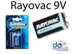 BATTERIES  RAYOVAC 9V EACH