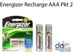 BATTERIES ENERGIZE RECHARGE AAA PKT2