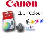 CANON CL-51 COLOUR IP2200/150 CARTRIDGE