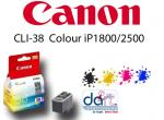 CANON CL-38 COLOUR iP1800/2500 INK CARTRIDGE