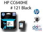 HP CC640HE D2563,F4283 #121 BLACK CART.