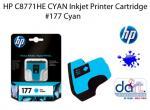 HP C8771HE CARTR. CYAN