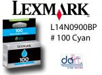 LEXMARK L14N0900BP #100 CYAN STD YIELD