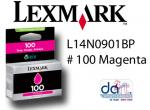LEXMARK L14N0901BP #100 MAGENTA STD YIELD
