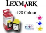LEXMARK 15M0120 COLUOR CART.