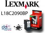 LEXMARK NO.14 RETURN PROGRAM CART. L18C2090BP