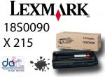 LEXMARK X215 CARTRIDGE 3.2