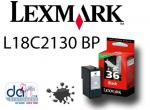 LEXMARK NO.36 BLK RETURN CART. L18C2130BP BLK