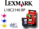 LEXMARK NO.37 COL. RETURN CART. L18C2140BP COL.