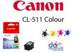 CANON CL-511 COLOUR CARTRIDGE