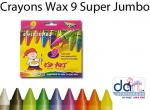 CRAYONS WAX C-9 THICK